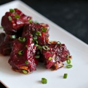 Vietnamese caramelized ribs (sườn ram)