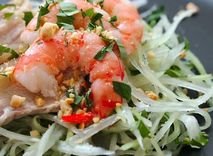 Vietnamese Green Papaya Salad | Gỏi Đu Đủ Tôm Thịt