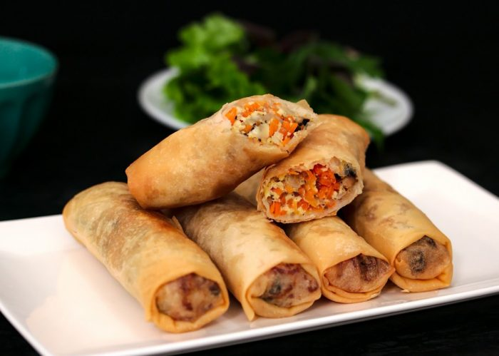 Vietnamese Vegetarian Eggrolls | Plated Palate